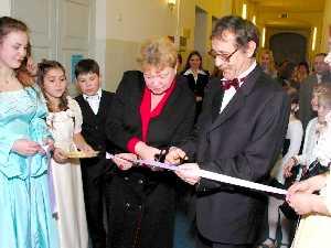 Открытие школьного музея А.С. Пушкина Тарту, 05.11.2004